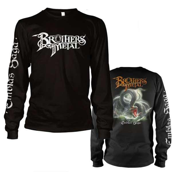 BROTHERS OF METAL - Emblas Saga - Longsleeve (Size M-XXL)
