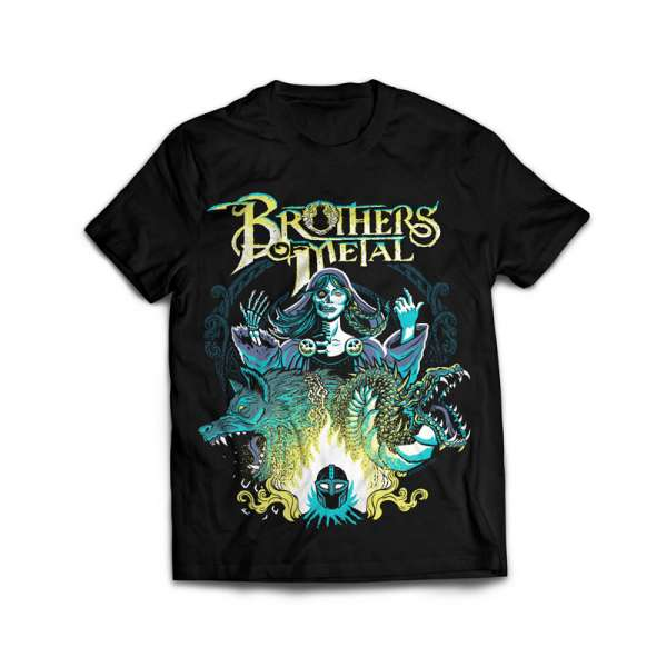 BROTHERS OF METAL - Hel - T-Shirt Size M-XXL