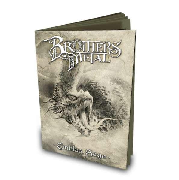 BROTHERS OF METAL - Emblas Saga - Ltd. Booklet