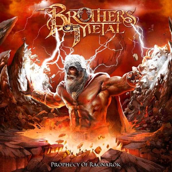 BROTHERS OF METAL - Prophecy Of Ragnarök - CD Jewelcase