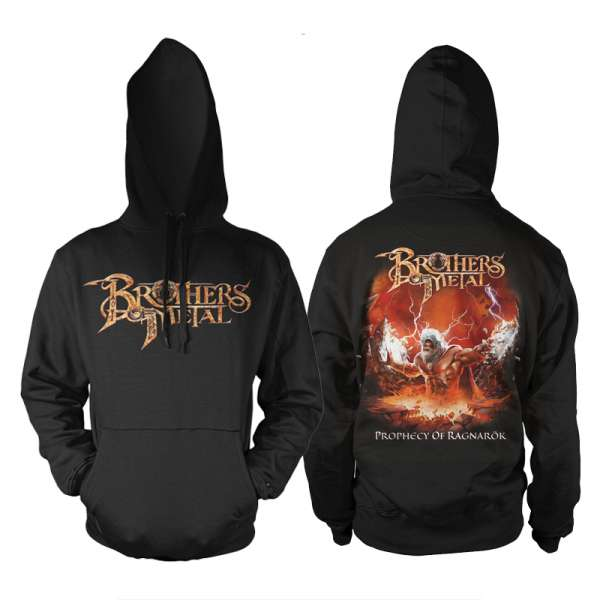 BROTHERS OF METAL - Prophecy Of Ragnarök - Hooded Sweater (Size M-XXL)