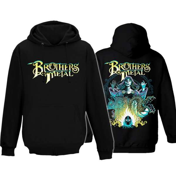 BROTHERS OF METAL - Hel - Hooded Sweater (Sizes M-XXL)