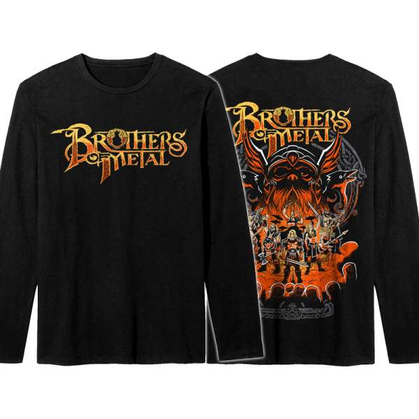 BROTHERS OF METAL - Brothers Unite - Longsleeve (Sizes M-XXL)