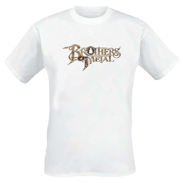 BROTHERS OF METAL - White Logo - T-Shirt Size XS + S