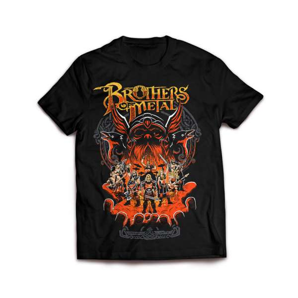 BROTHERS OF METAL - Brothers Unite - T-Shirt Size M-XXL